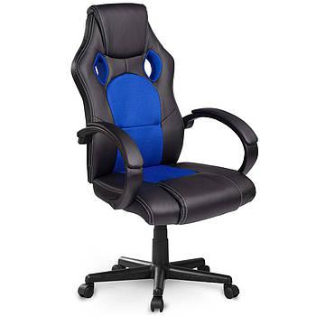 Вращающееся игровое кресло черно-синее Sofotel Master Марка Европы