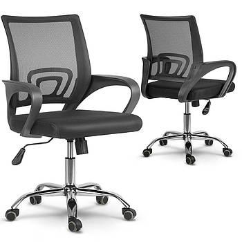 Вращающееся офисное кресло из микро сетки Sofotel Latok black Марка Европы