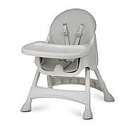 Высокий стул со столом Milo серый, фото 3
