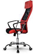 Висока сучасне офісне крісло Rio red, фото 2