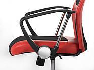 Висока сучасне офісне крісло Rio red, фото 4