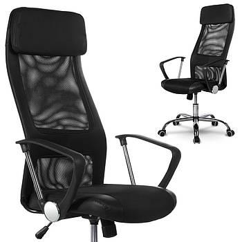 Высокое современное офисное кресло Rio черное Марка Европы