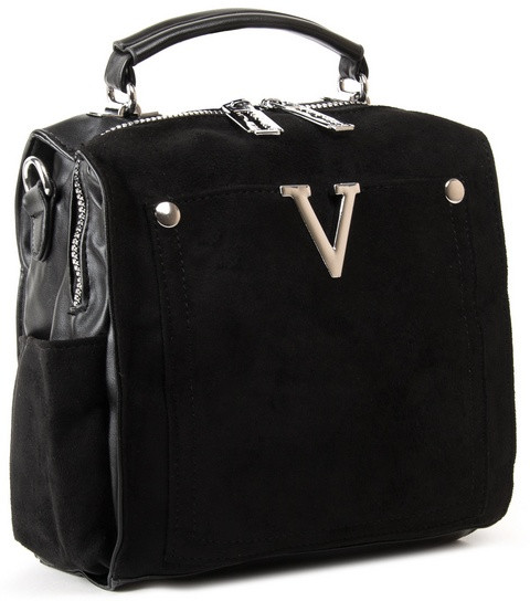 Жіноча замшева сумка рюкзак