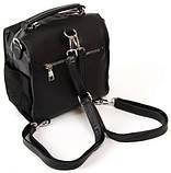 Жіноча замшева сумка рюкзак, фото 2