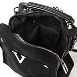 Жіноча замшева сумка рюкзак, фото 3