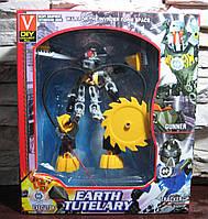 Конструктор робот подвижный Earth Tutelary
