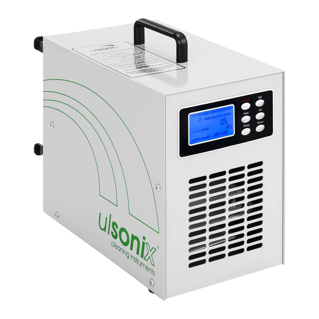 Генератор озону - 20000 мг / год - 205 Вт - ЖК-дисплей Ulsonix