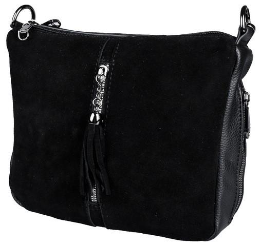 Замшева сумка жіноча