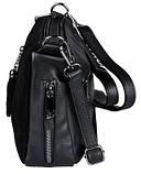 Замшева сумка жіноча, фото 4