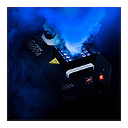 Генератор туману - 509 м3 / хв - DMX - 3 кольори світлодіодів Singercon, фото 5