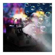 Генератор тумана и пузырей - 2в1- 2 пульта ДУ Singercon, фото 5