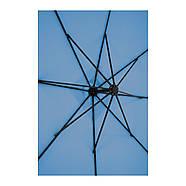 Подвесной садовый зонт - 250 x 250 см - синий Uniprodo Марка Европы, фото 5