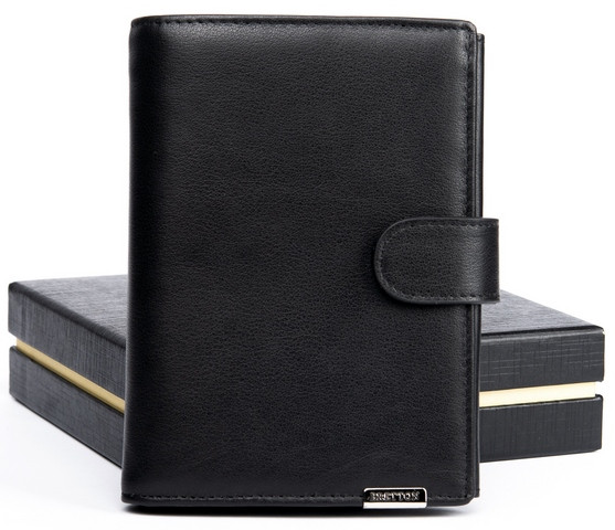 Чоловічий шкіряний гаманець правник Bretton
