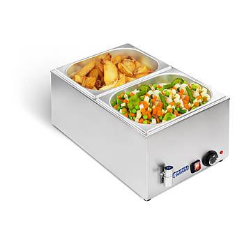 Мармит - 2 x GN 1/2 - кран Royal Catering Марка Европы