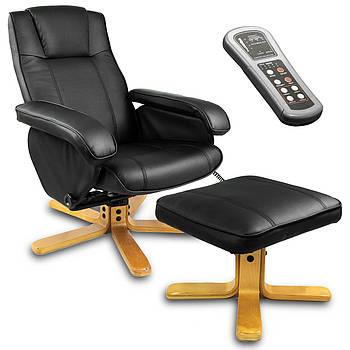 Массажное кресло с подставкой для ног + обогреватель Sofotel Марка Европы