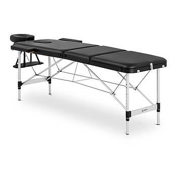 Масажний стіл Bordeux Black - Складна - Чорний Physa