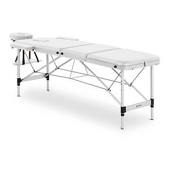 Масажний стіл Bordeux White - складна - біла Physa