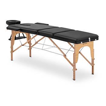 Масажний стіл Marseille Black - Складна - Чорна Physa