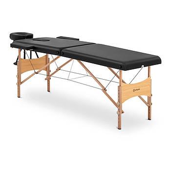 Масажний стіл Toulouse Black - Складна - Чорна Physa