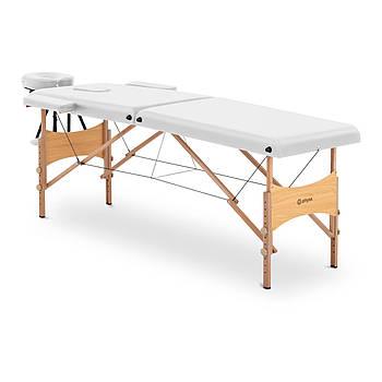 Масажний стіл Тулуза Біла - складна - біла Physa