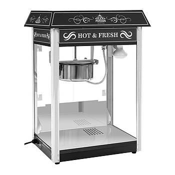 Машина для попкорна - черный - американский дизайн Royal Catering Марка Европы