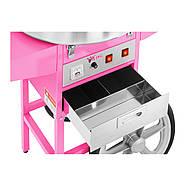 Машина для производства сахарной ваты - 52 см - тележка Royal Catering Марка Европы, фото 2