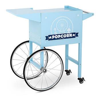 Тележка для попкорна - 51 x 37 см - синий Royal Catering Марка Европы