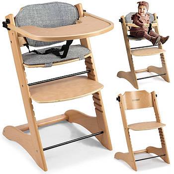 Деревянный стульчик Лони - коричневый Марка Европы
