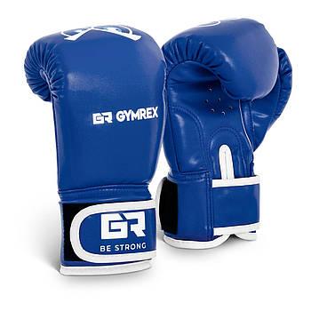 Детские боксерские перчатки - синие - 4 унции Gymrex Марка Европы