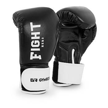 Детские боксерские перчатки - черные - 6 унций Gymrex Марка Европы