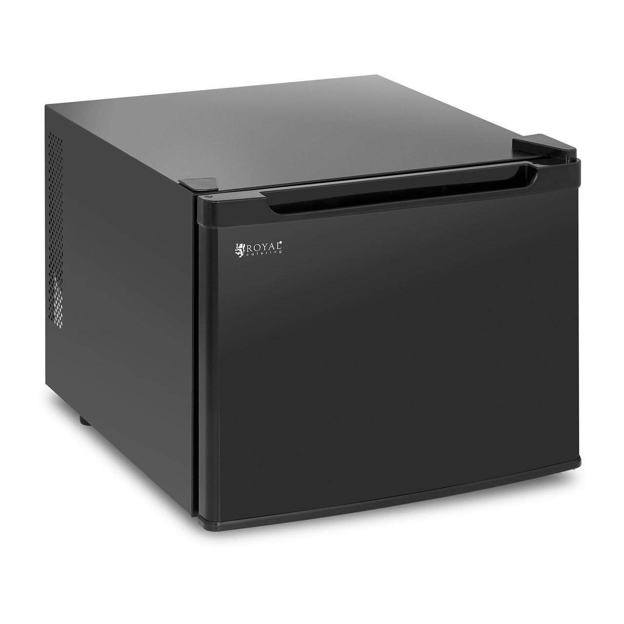 Мини-холодильник - 35 л - черный Royal Catering