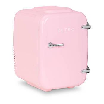 Мини-холодильник - автомобиль - 4 л - зефир розовый - термостат Bredeco Марка Европы