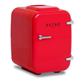 Мини-холодильник - автомобиль - 4 л - красный цвет - термостат Bredeco Марка Европы