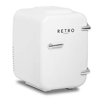 Мини-холодильник - автомобиль - 4 л - ледяной белый - термостат Bredeco Марка Европы