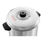 Диспенсер для гарячої води - 30 літрів - зливний отвір - 2500Вт Royal Catering Марка Європи, фото 3