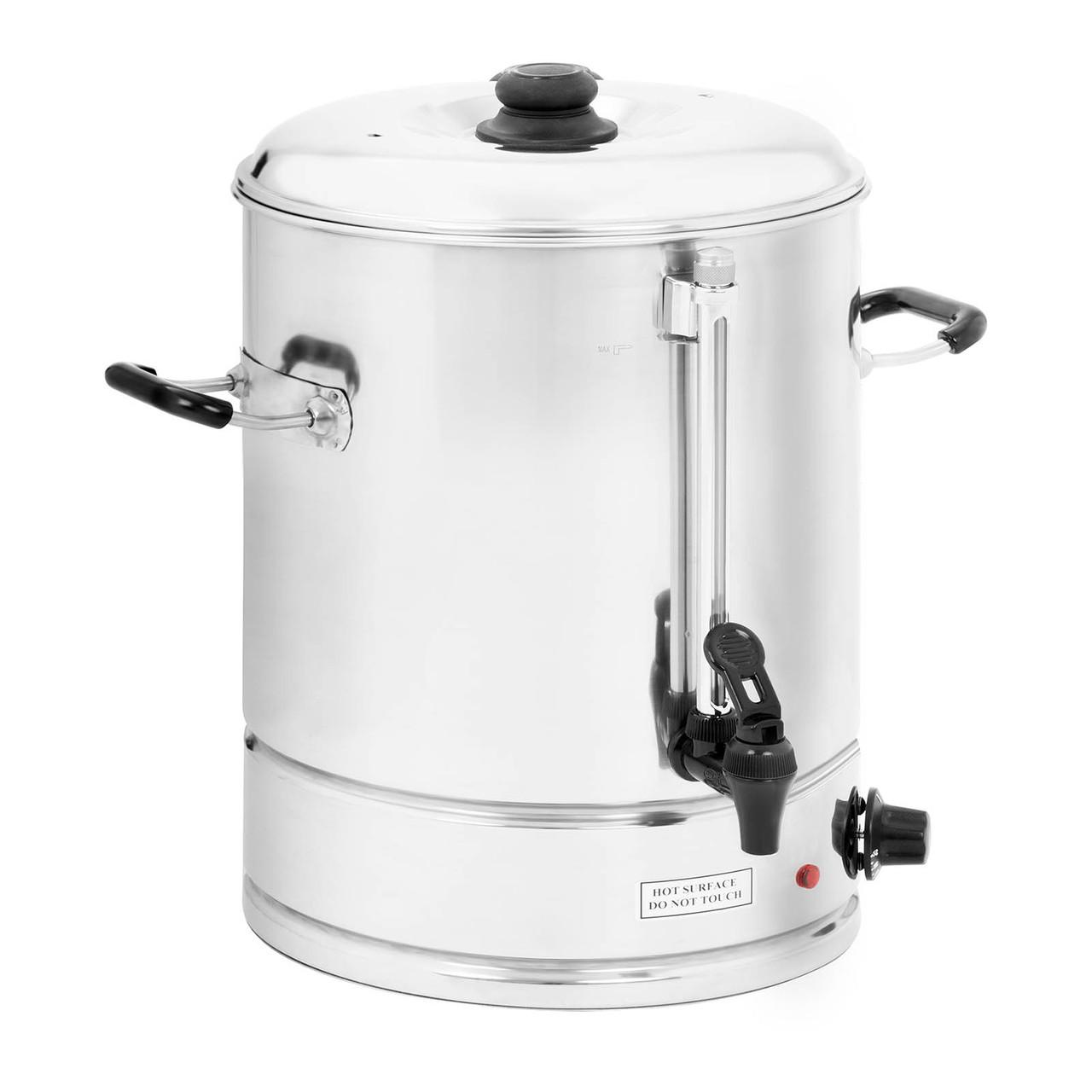 Диспенсер для горячей воды - 30л - нержавеющая сталь - 3000Вт Royal Catering
