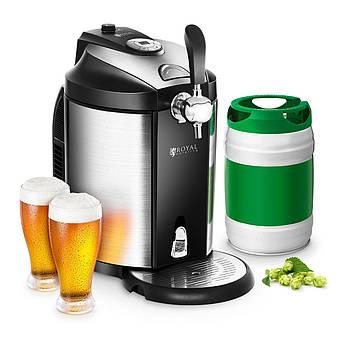 Диспенсер для пива - 5л - регулируемый 2-12 ° C Royal Catering Марка Европы
