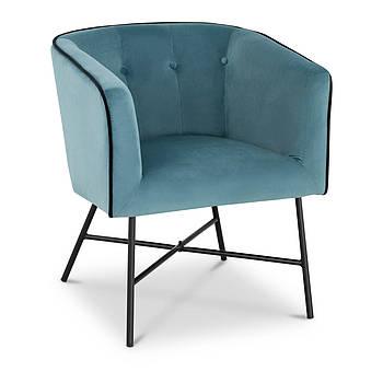 Мягкое кресло - бирюза - велюр Fromm & Starck Марка Европы