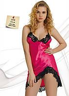 Атласная ночная сорочка короткая Jasmin 1570