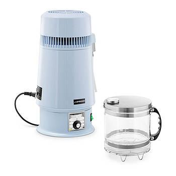 Дистилятор води - 4 л - контроль температури - скляний глечик Uniprodo Марка Європи