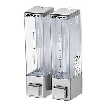 Дозатор для мыла 2 x 250 мл silver Physa Марка Европы