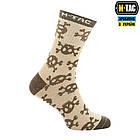 M-Tac шкарпетки легкі Mk.3 Pirate Skull Sand, фото 3