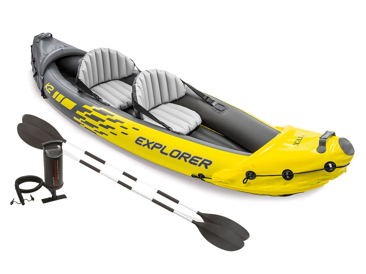 Надувная байдарка Explorer K2 312 x 91 x 51 см INTEX 68307