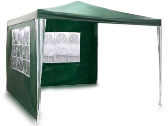 Садовый павильон + 2 стены 3 х 3м. Зеленый Plonos