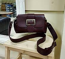 Женская сумка кросс-боди италия натуральная кожа