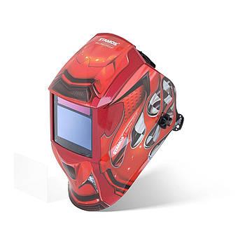 Сварочная маска - Red Race - Expert Stamos Welding Group Марка Европы