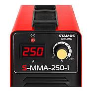 Сварщик MMA - 250 A - 230 В - IGBT- плюс Сварочная маска - Sub Zero - Easy Stamos Basic Марка Европы, фото 4
