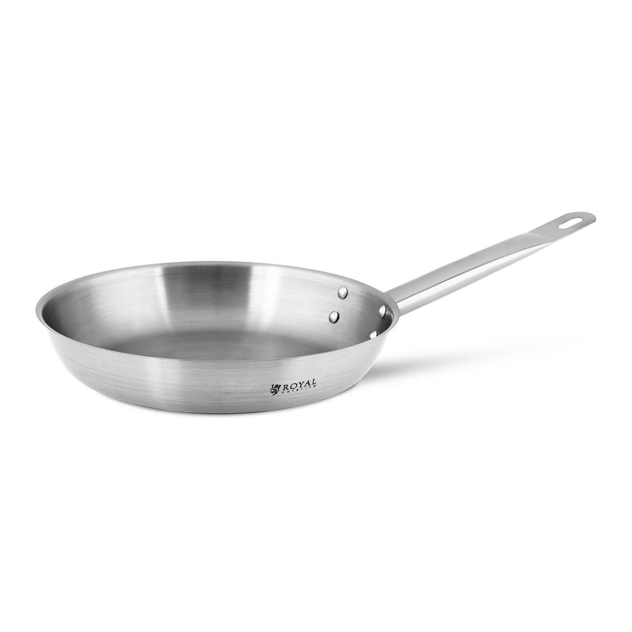Сковорода - нержавеющая сталь - 24 см Royal Catering Марка Европы