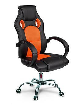 Оранжевое вращающееся игровое кресло Sofotel Master для геймеров Марка Европы