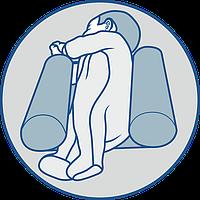 Подушка ограничитель для новорожденных Olvi